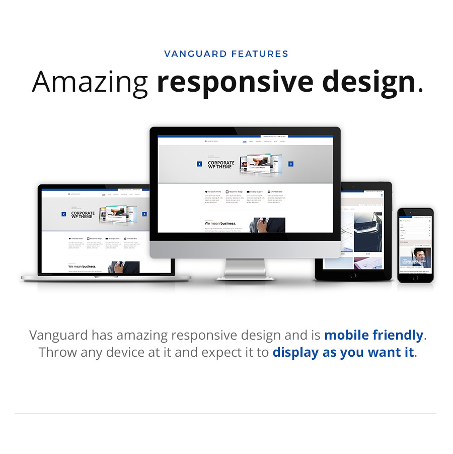 Vanguard: Business & Portfolio WordPress Theme - 10