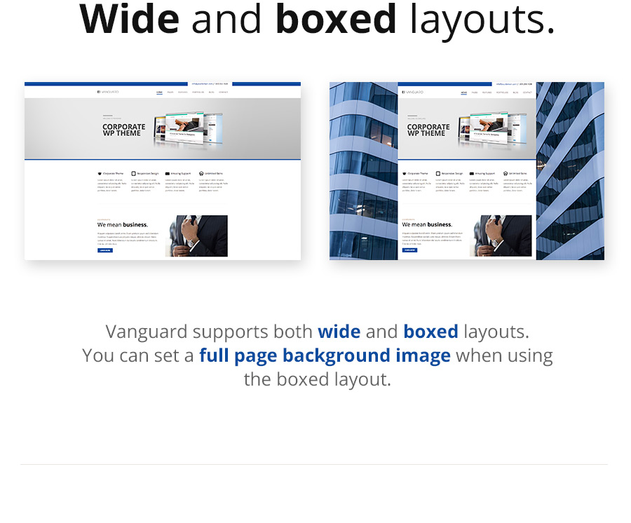 Vanguard: Business & Portfolio WordPress Theme - 11