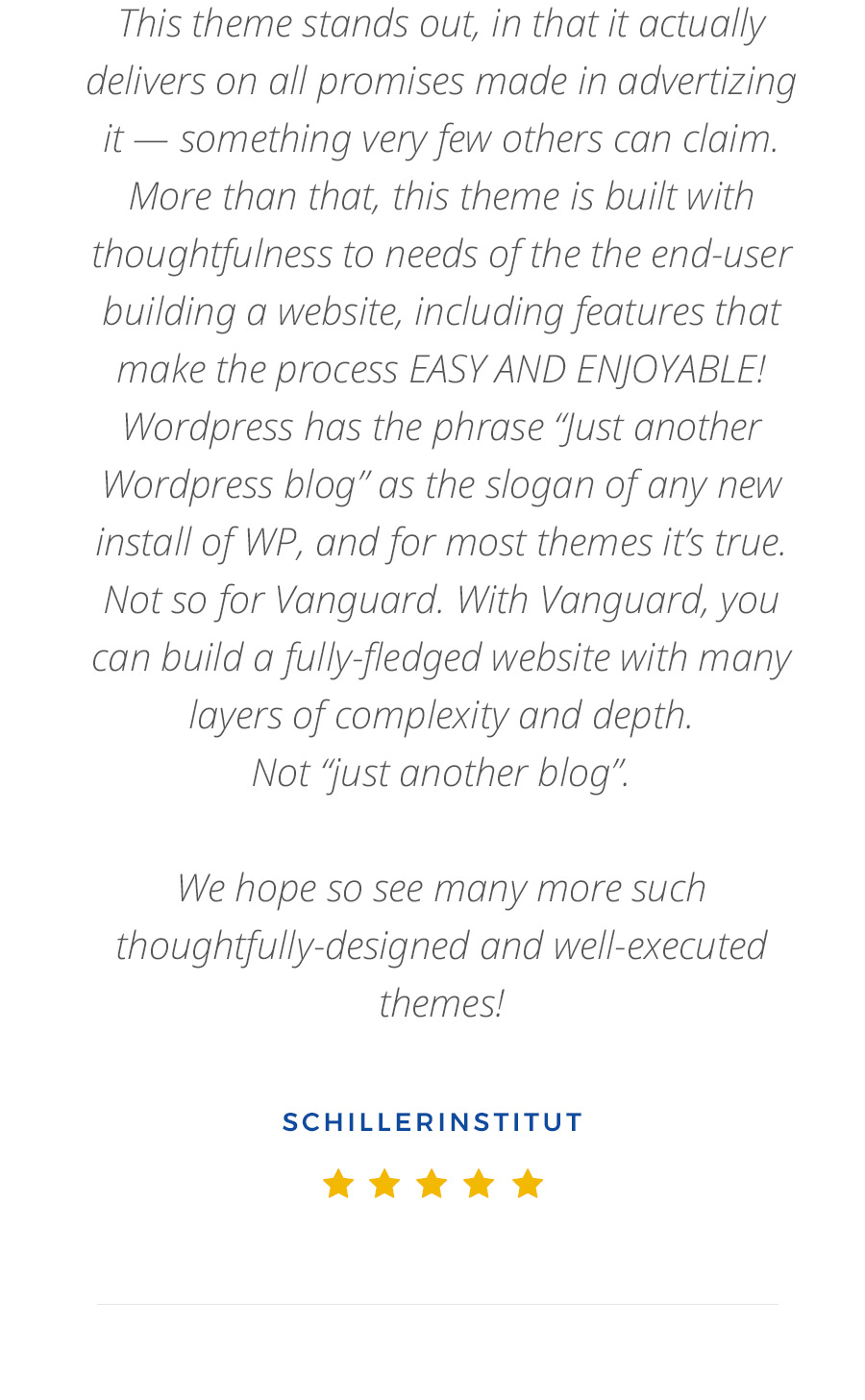 Vanguard: Business & Portfolio WordPress Theme - 17