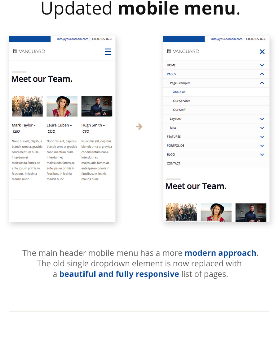 Vanguard: Business & Portfolio WordPress Theme - 7